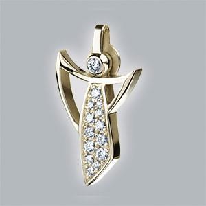 diamanten anhänger gold