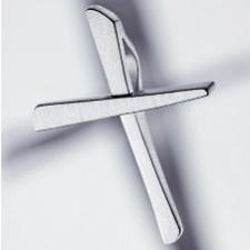 croce pendente 925 argento