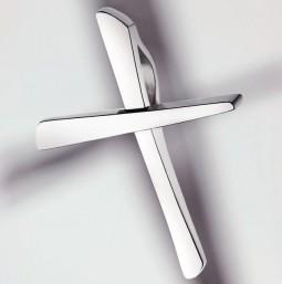 Croix Pendentif 925 argent poli - petite