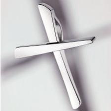 Bijoux, Pendentif, 925, argent, poli, -, petite, pour, le, baptême, base
